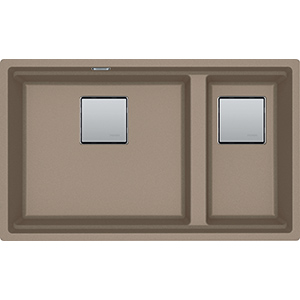 Kubus 2 | KNG 120 | Fragranite Oyster | Sinks