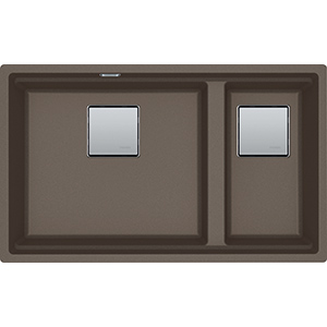 Kubus 2 | KNG 120 | Fragranit+ Taupe | Eviers
