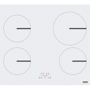 Smart | FHSM 604 4I WH | Glass White | Cooking Hobs