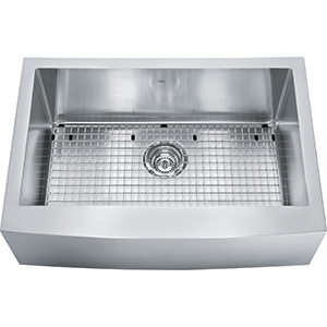 Kindred Collection | KCFS30B-10-10BG | Stainless Steel | Sinks