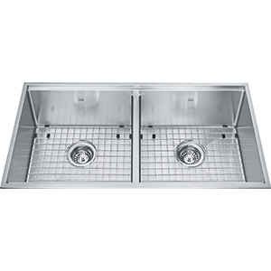 Designer | KCD36-9-10A | Stainless Steel | Sinks