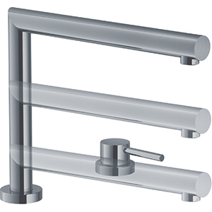 Active Window | Bec orientable | Inox look | Mitigeurs