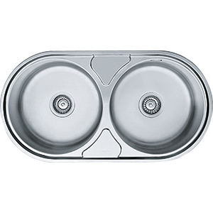 Lugano | LUX 620 | Stainless Steel | Sinks