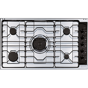 Cartesio | PI 4 4GAV-UR | Stainless Steel | Cooking Hobs