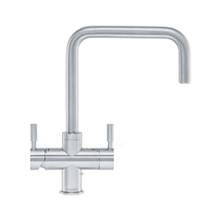 4-in-1 Tap | Omni Contemporary | Stainless Steel | Instant boiling water taps