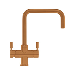 4-in-1 Tap | Omni Contemporary | Copper Finish | Instant boiling water taps