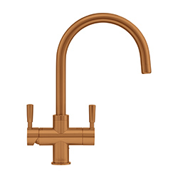 4-in-1 Tap | Omni | Copper Finish | Instant boiling water taps