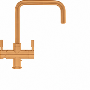 4-in-1 Tap | Omni Contemporary | Gold Finish | Instant boiling water taps