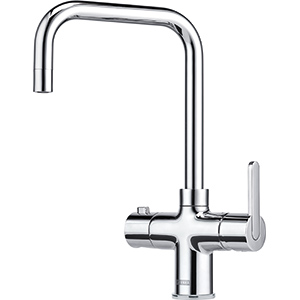 3-in-1 Tap | Minerva Irena | Chrome | Instant boiling water taps