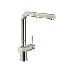 Active Plus | Uittrekbare uitloop | Polished Nickel | Kranen