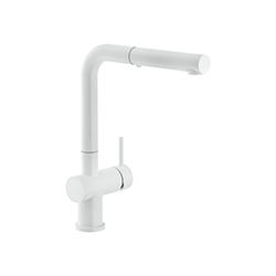 Active Plus | Uttrekkbar tut | Matt White | Armaturer