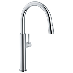Pescara | Swivel Spout Up & Down | Chrome | Taps