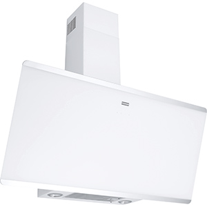 Evo Plus | FPJ 925 V WH/SS | Stainless Steel-Glass White | Hoods