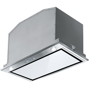 Box Plus LED | FBI 537 XS/WH | Cristal Blanco Inox | Campanas