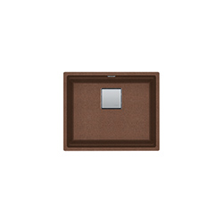 Kubus 2 | KNG 110 52 | Fragranite Copper Gold | Sinks