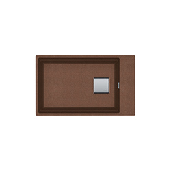 Kubus 2 | KNG 110 62 | Fragranite Copper Gold | Sinks