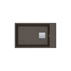 Kubus 2 | KNG 110-62 | Fragranite Copper Grey | Spoelbakken