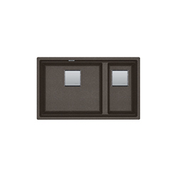 Kubus sottotop | KNG 120 | Fragranite Copper Grey | Chiuvete