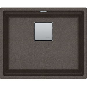 Kubus 2 | KNG 110 52 | Fragranite Copper Grey | Sinks