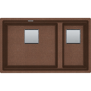 Kubus | KNG 120 | Fragranite Copper Gold | Sinks