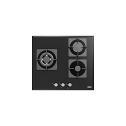 Smart Linear | FHNS 603 2G TC BK C | Glass Black | Cooking Hobs