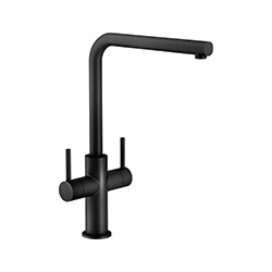 Neptune | Swivel Spout | Matt Black | Taps