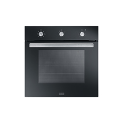Smart Plus | SGP 62 M BK/F | Glass Black | Ovens