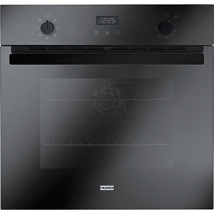 Crystal | CR 66 M BK/F | Glass Black | Ovens
