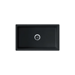 Farm House | FH2K 710-30 | Glossy Black | Sinks