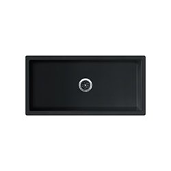 Farm House | FH2K 710-36 | Glossy Black | Sinks