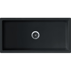Farm House | FH2K 710-36 | Fireclay Glossy Black | Sinks