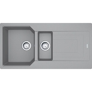 Urban | UBG 651-100 | Fragranite Stone Grey | Sinks