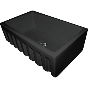 Farm House | FH2K 710-30 | Fireclay Matte Black | Sinks
