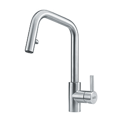 Kubus | Pull down spray | Stainless Steel | Taps
