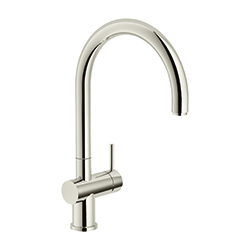 Active Neo | Vaste uitloop | Polished Nickel | Kranen