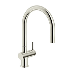 Active Neo | Pull down spray | Polished Nickel | Μπαταρίες κουζίνας