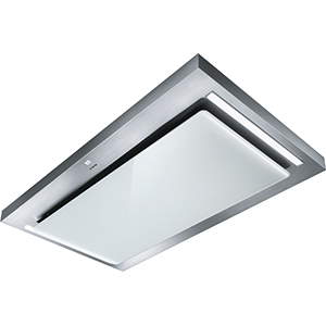 Cosmos | COSMOS 1200 INOX/VERRE BLANC | Inox / verre blanc | Hottes
