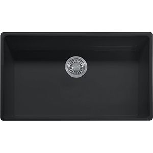 Farm House | FH2K 710-33 | Fireclay Matte Black | Sinks