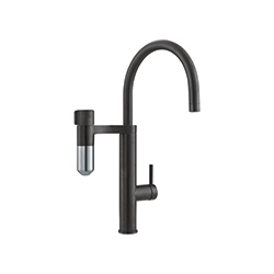 Vital 2in1 | Swivel Spout | Industrial Black / Steel Optics | Taps