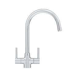 Anteleo | Swivel Spout | Chrome | Taps