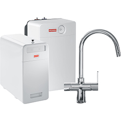 Perfect5 Chilled-Pro | Minerva COMBI XL | Chroom | Kokend & gefilterd waterkranen