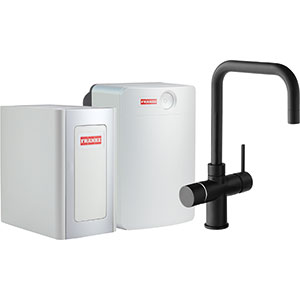 Perfect4 Chilled | Irena COMBI XL | Black | Kokend & gefilterd waterkranen