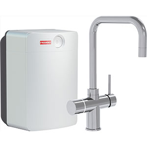 Perfect4 | Irena COMBI XL | Chroom | Kokend & gefilterd waterkranen