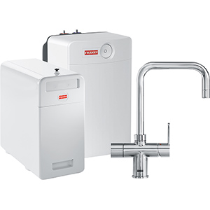Perfect5 Chilled-Pro | Irena COMBI XL | Chroom | Multi-water kranen