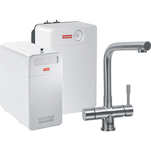 Perfect5 Chilled-Pro | Mondial COMBI XL | Roestvrijstaal | Multi-water kranen
