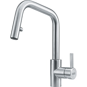 Kubus | Pull down spray | Stainless Steel | Faucets