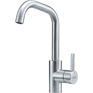 Kubus | Swivel Spout | Stainless Steel | Faucets