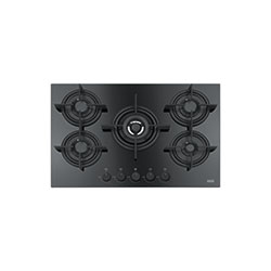 Crystal | FHCR 755 4G TC HE BK C | Glass Black | Hobs