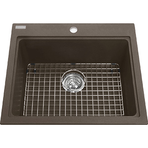 Kindred Sanitized Granite | KGSL2023-8SM | Granite Storm | Sinks