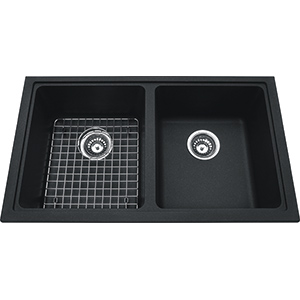 Kindred Sanitized Granite | KGD1U-8ON | Granite Onyx | Sinks